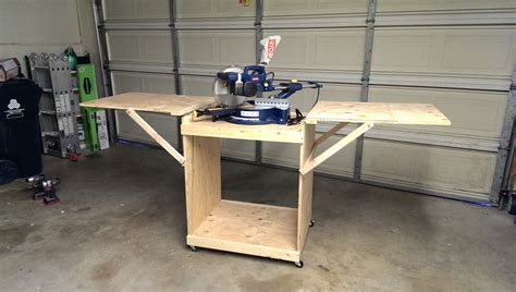Diy Miter Saw Tables