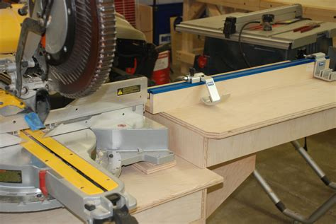 Diy Miter Saw Workstation