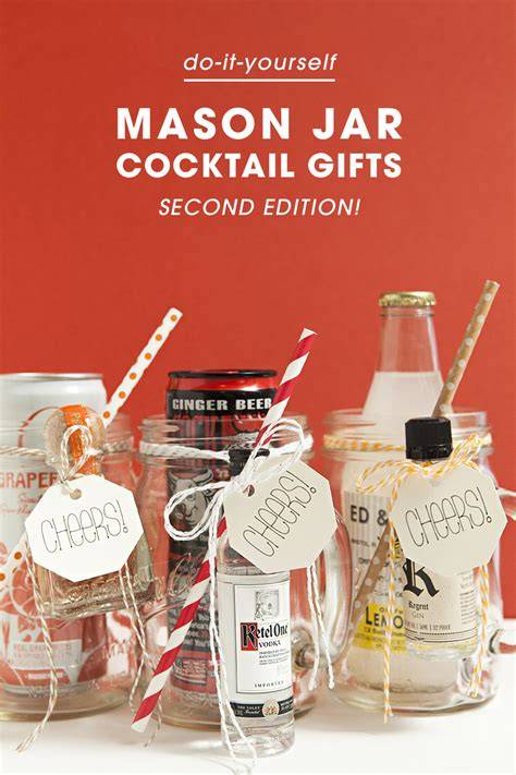 Diy Mixed Drink Gifts