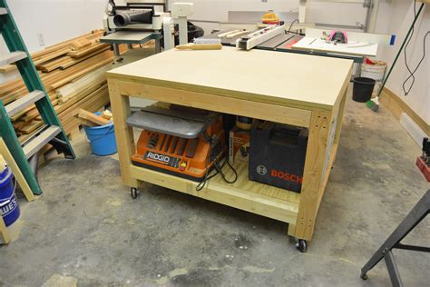 Diy Mobile Assembly Tables