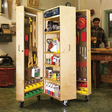 Diy Mobile Tool Cabinet Plans