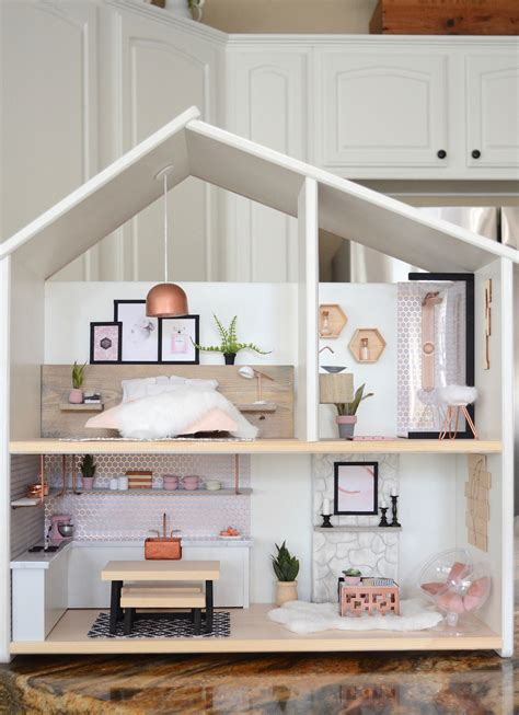 Diy Modern Dollhouse Decor