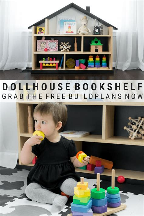Diy Modern Dollhouse From Bookcase