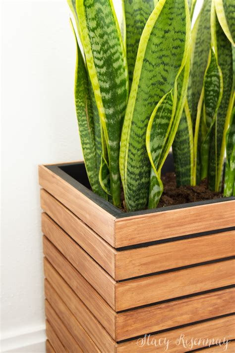 Diy Modern Planter Box