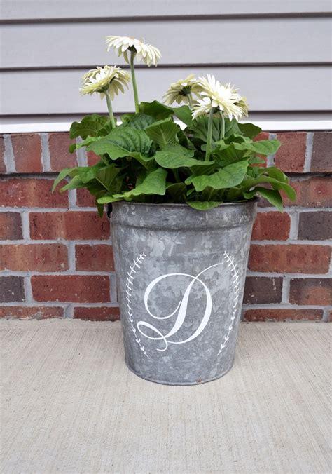 Diy Modern Planters Wood Metal Bucket