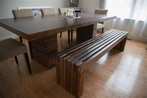 Diy Modern Slat Bench