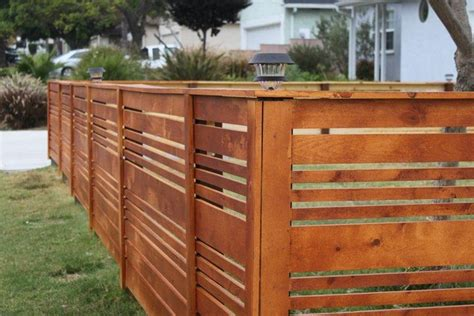 Diy Modern Wood Fence