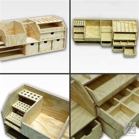 Diy Modular Wood Storage Drawer Plans Free