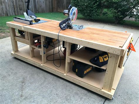 Diy Modular Work Table