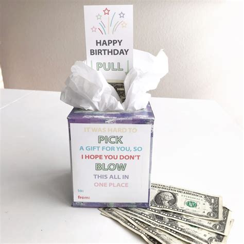 Diy Money Kleenex Box