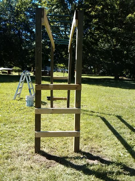 Diy Monkey Bars Outdoor