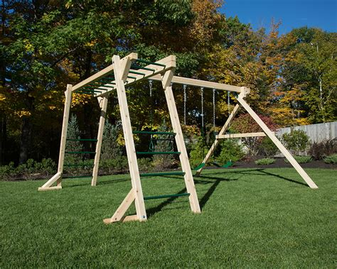 Diy Monkey Bars With Swing