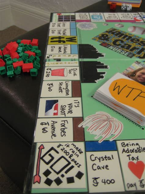 Diy Monopoly Game Table
