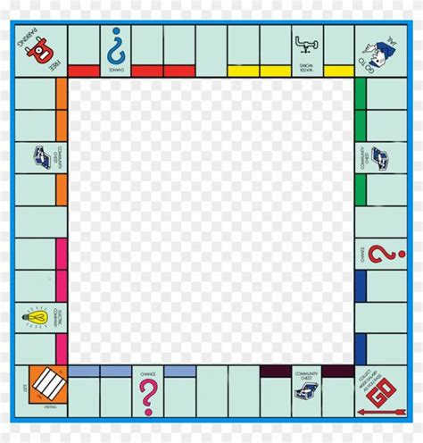 Diy Monopoly Game Template