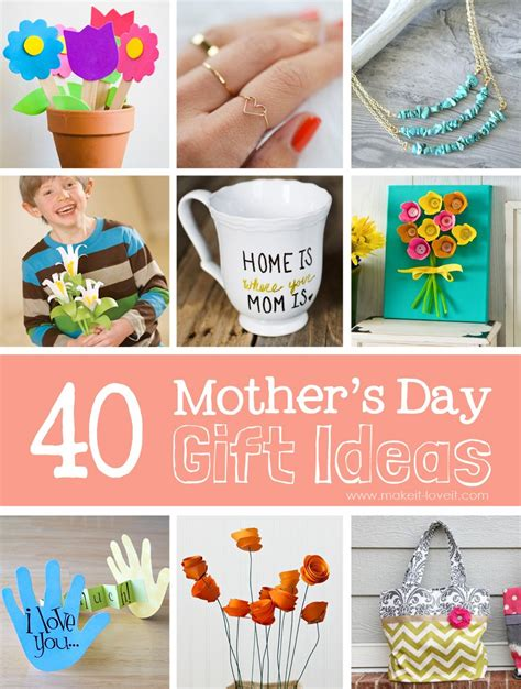 Diy Mothers Day Gifts From Baby