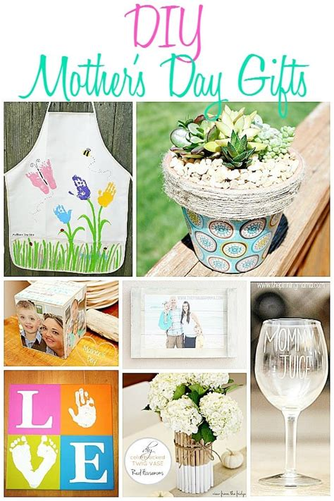 Diy Mothers Day Gifts Pinterest