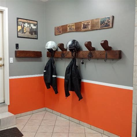 Diy Motorcycle Gear Rack