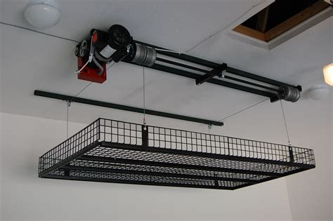 Diy Motorized Garage Storage Lift