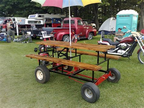 Diy Motorized Picnic Table