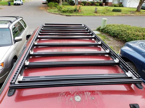Diy Mount Roof Rack To Rails Minecraft