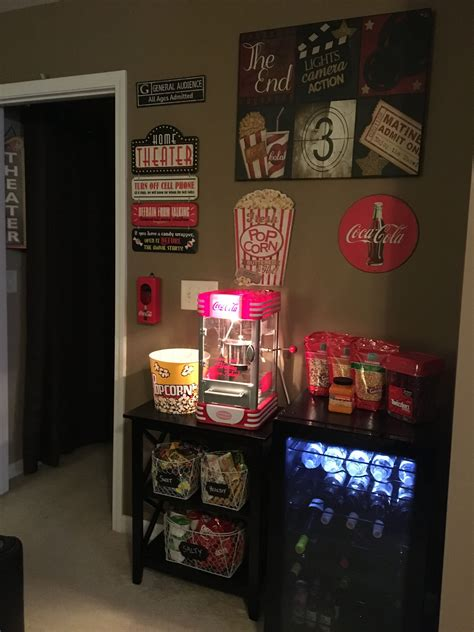 Diy Movie Theater Concession Stand