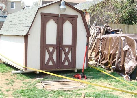 Diy Moving A Storage Shed