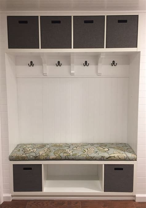 Diy Mudroom Bench Ikea