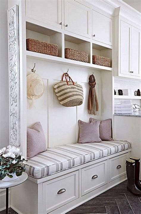 Diy Mudroom Bench With Hidden Storage