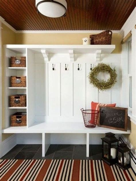 Diy Mudroom Benches Made From Bookcases