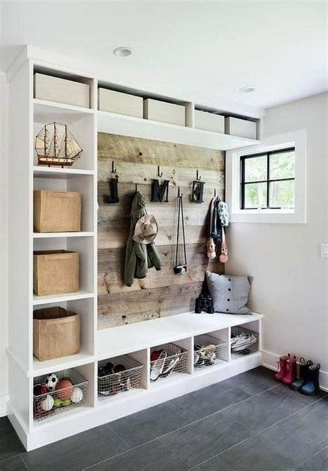 Diy Mudroom Storage Plans