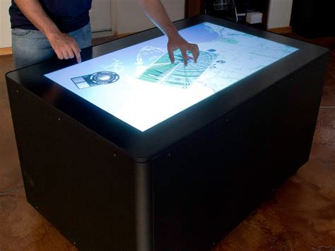 Diy Multitouch Coffee Table
