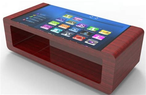 Diy Multitouch Coffee Table With Android