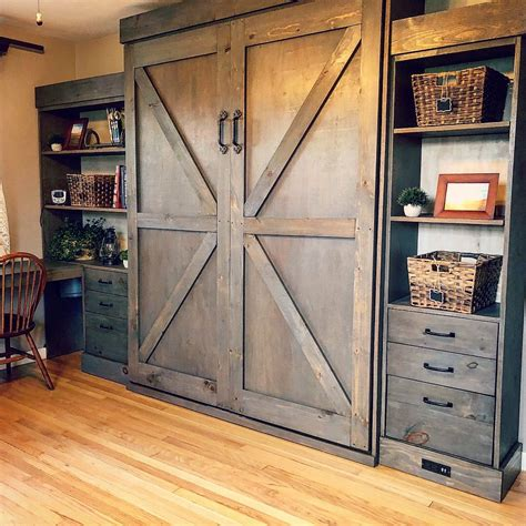 Diy Murphy Bed Barn Door