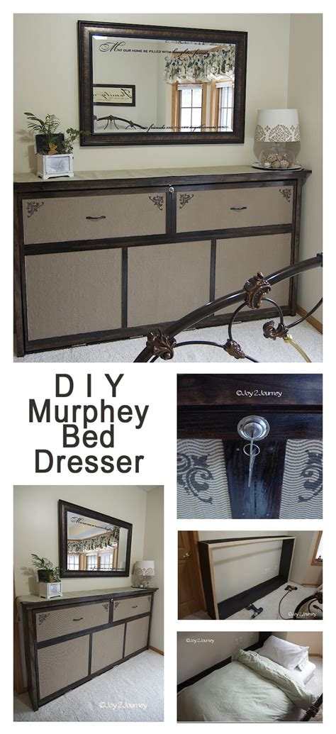 Diy Murphy Bed From Dresser