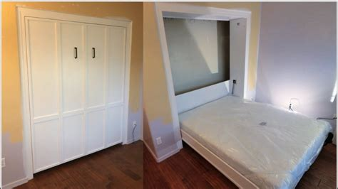 Diy Murphy Bed In A Closet