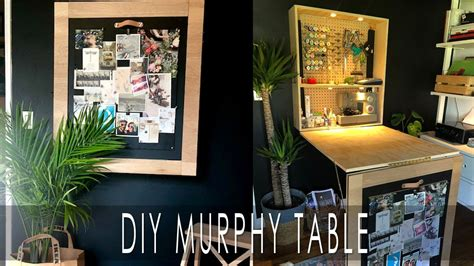 Diy Murphy Table Video Table Hall