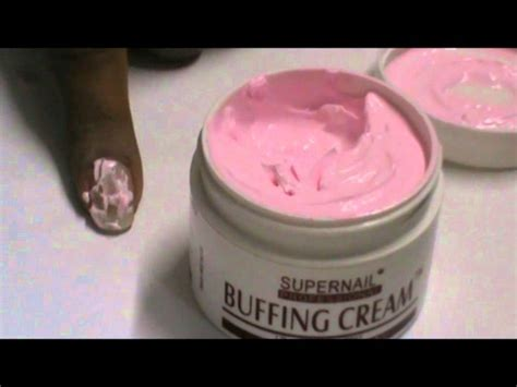 Diy Nail Cream Buff