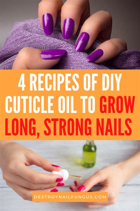 Diy Nail Growth Cream