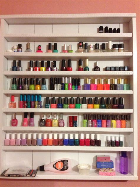 Diy Nail Polish Storage Ideas
