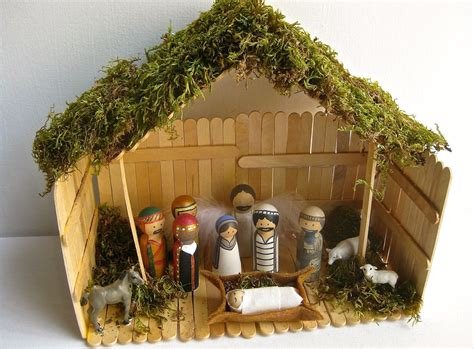 Diy Nativity Manger Plans