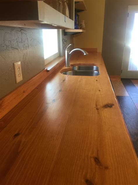 Diy Natural Wood Countertops