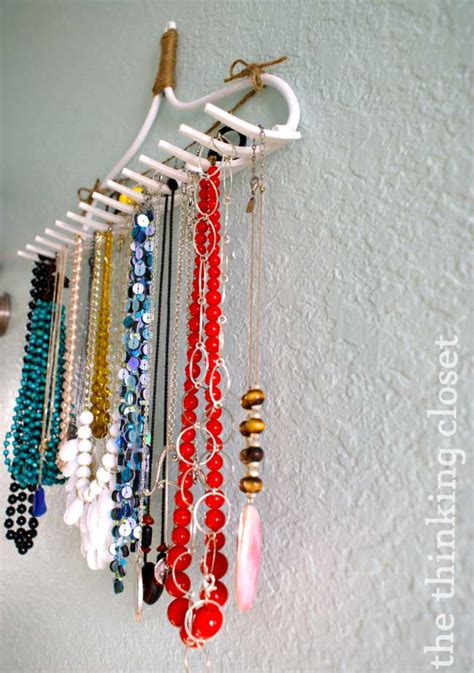 Diy Necklace Holder With Hanger