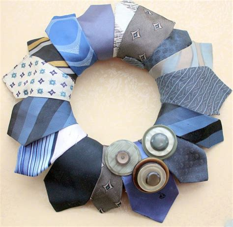 Diy Necktie Wreath