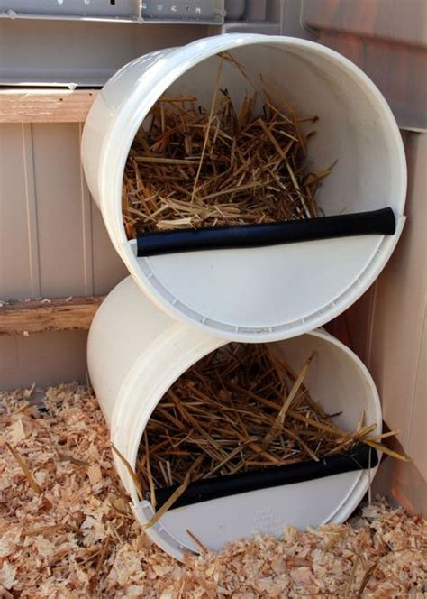 Diy Nesting Boxes Pads For Chickens