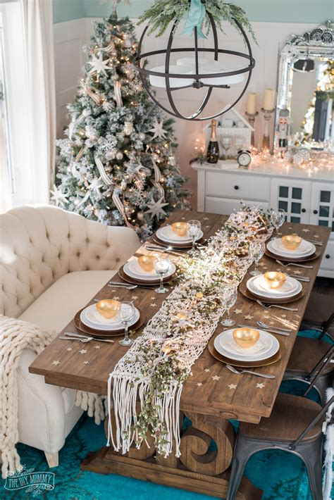 Diy New Years Eve Table Decorations