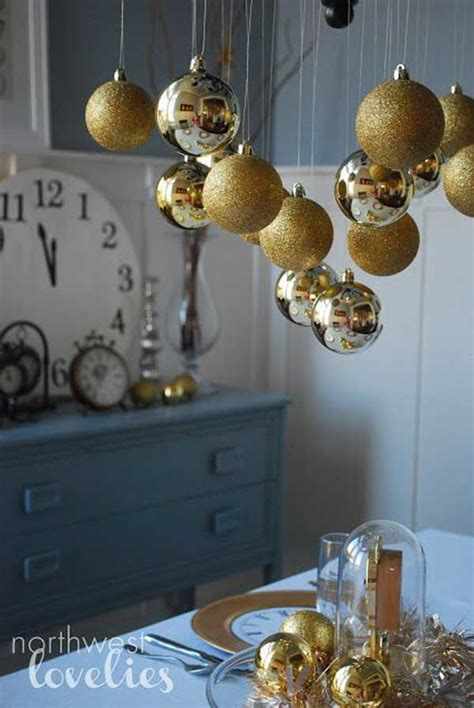 Diy New Years Table Decorations