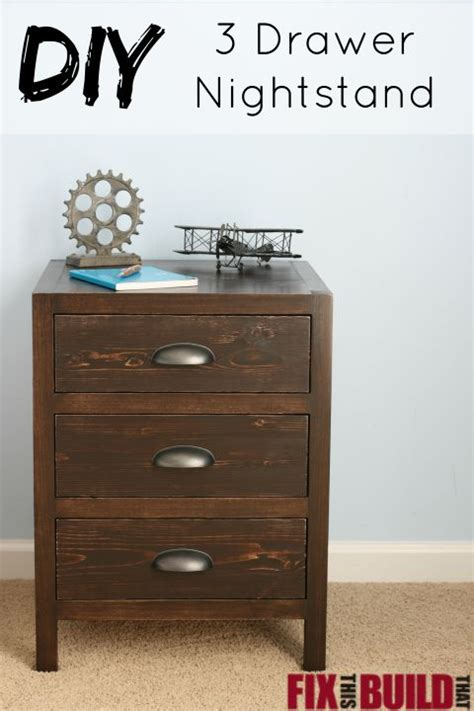 Diy Night Stand With Drawer