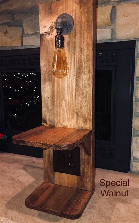 Diy Night Stand With Outlet