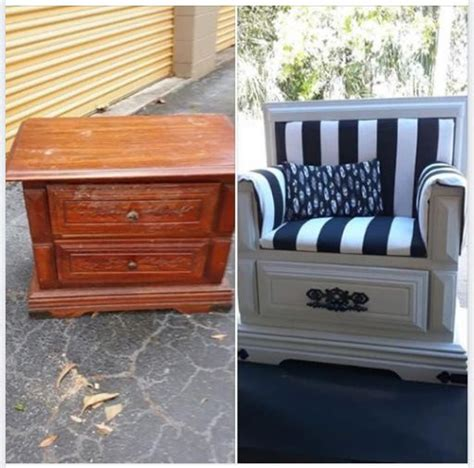Diy Nightstand To Chair