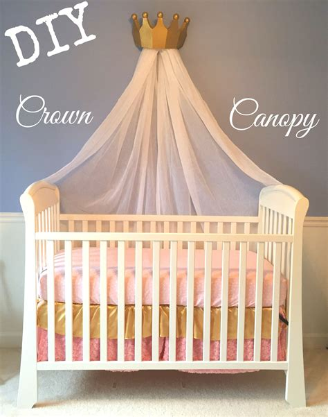 Diy Nursery Bed Crown